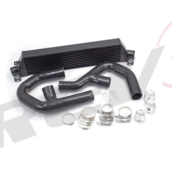 Volkswagen GTI (MK5) 2006-09 2.0T Front Mount Intercooler Kit - Black