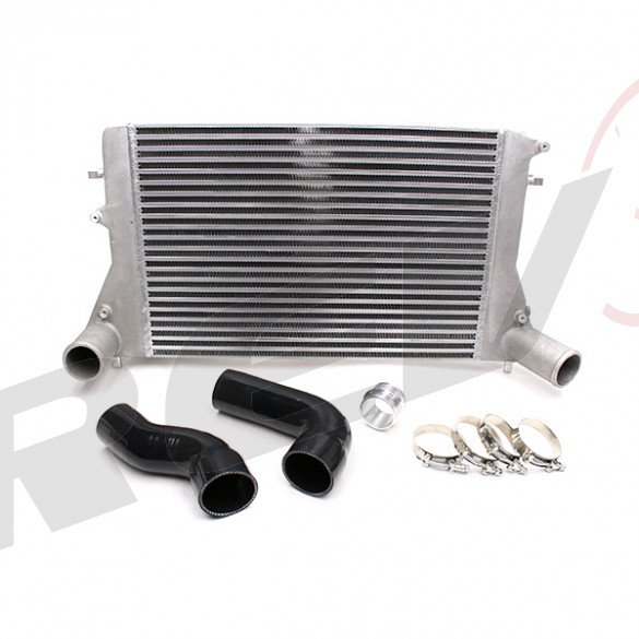 Audi A3/S3 8P 1.8 TSI 2.0 TFSI Front Mount Intercooler Kit (Version 2), Black Hose