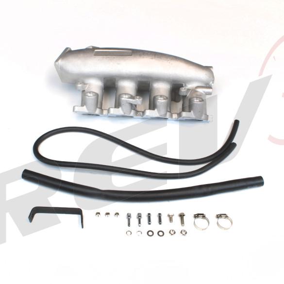 Nissan S13 SR20DET Intake Manifold, Aluminum Casting, Raw Aluminum