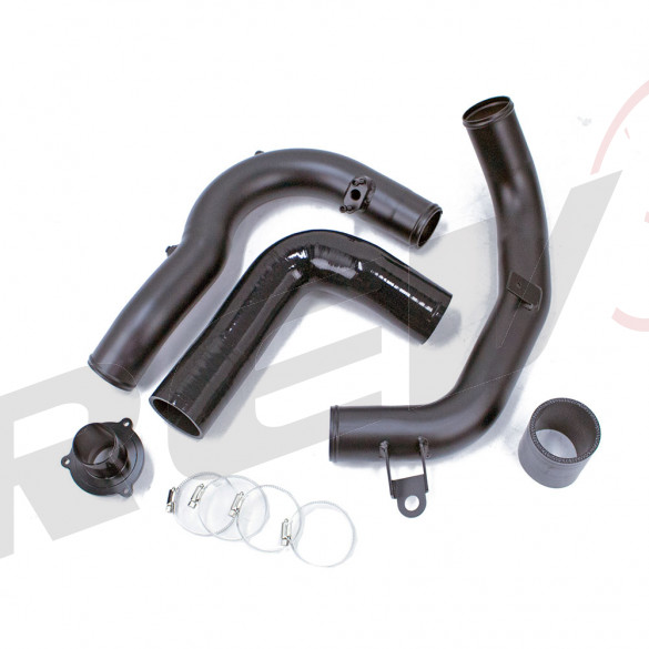 "Volkswagon Golf Alltrack MK7 1.8L Turbocharged 2017-18 2.5"" Intake and Charge Pipe Kit with Turbo Muffler Bypass Adaptor"