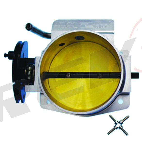 Billet Aluminum Throttle Body (102mm) for GM Gen III LS1 LS2 LS6 4-Bolt