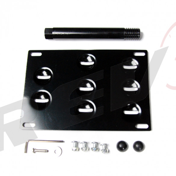 Mercedes Benz S Class/S63 07-13 License Plate Mounting Kit