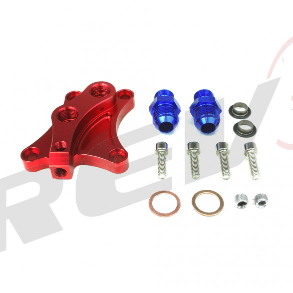Nissan 240SX SR20 Oil Block Adaptor