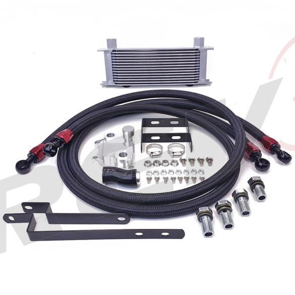 Volkswagen Passat CC 2.0T EA888 Bolt-On Upgrade 14 Row Oil Cooler Kit