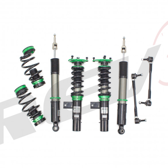 Volkswagen Golf (MK6) 2010-14 Hyper-Street II Coilover Kit w/ 32-Way Damping Force Adjustment(54.5mm)