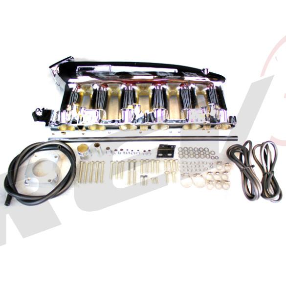 Nissan Skyline RB25Det Intake Manifold, Chrome