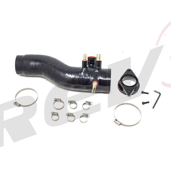 Silicone Turbo Inlet, Black, Subaru WRX (VA1) 2.0 Turbo 2015-18