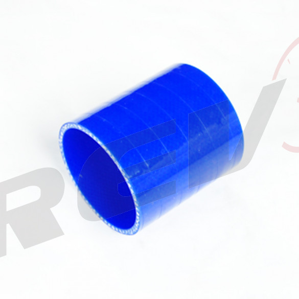 Silicone Tubing Coupler 4.00 Inch, Blue