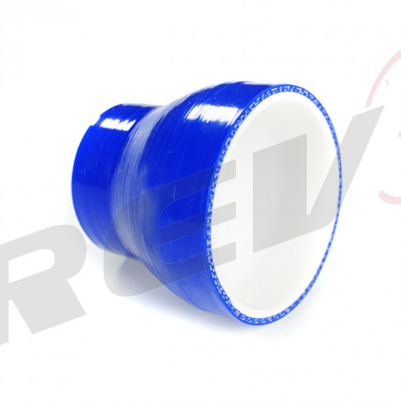 Silicone Tubing Reducer 2.50 To 3.00 Inch, Blue