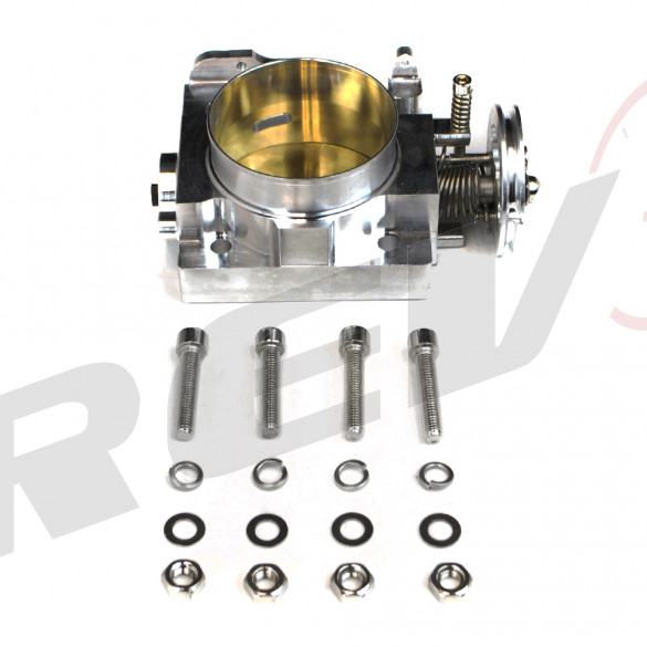 Billet Aluminum Throttle Body 70mm for Subaru Impreza WRX STI EJ20 EJ25 2002-05