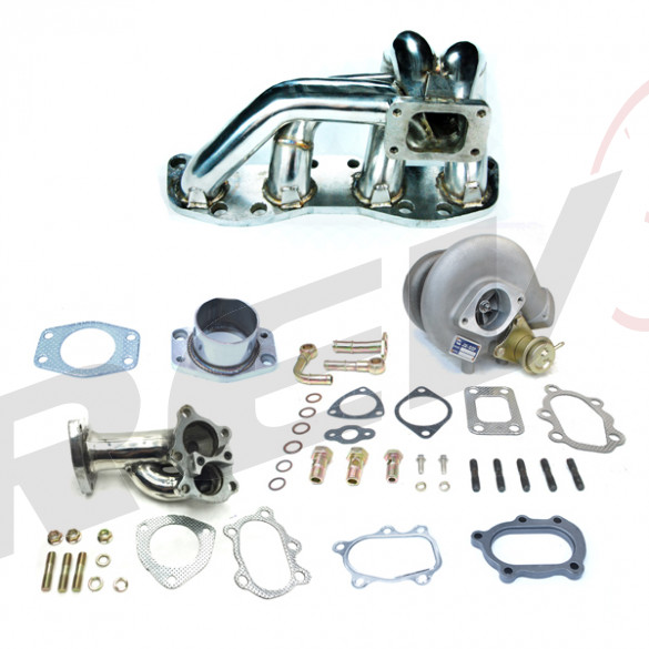 Nissan 180SX Sil80 CA18 18G Turbocharger Setup Kit