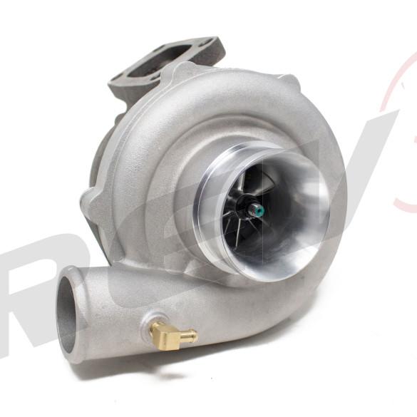 TX-50E-57 Billet Compressor Wheel Turbocharger .63AR, T3 Flange, 4-Bolt Exhaust Flange