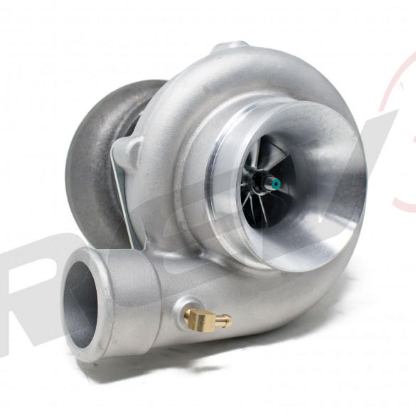 TX-60-62 Billet Compressor Wheel Turbocharger 63 AR, T3 Flange, 5-Bolt Exhaust Flange