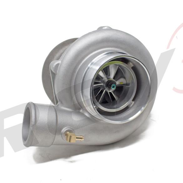 TX-66-62 Billet Compressor Wheel Turbocharger .70 AR, T4 Divided Flange, 3 in. V-Band Exhaust