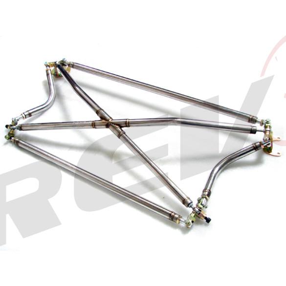 Rev9Power: Acura Integra 94-01 Cross Bar (2 Door Only