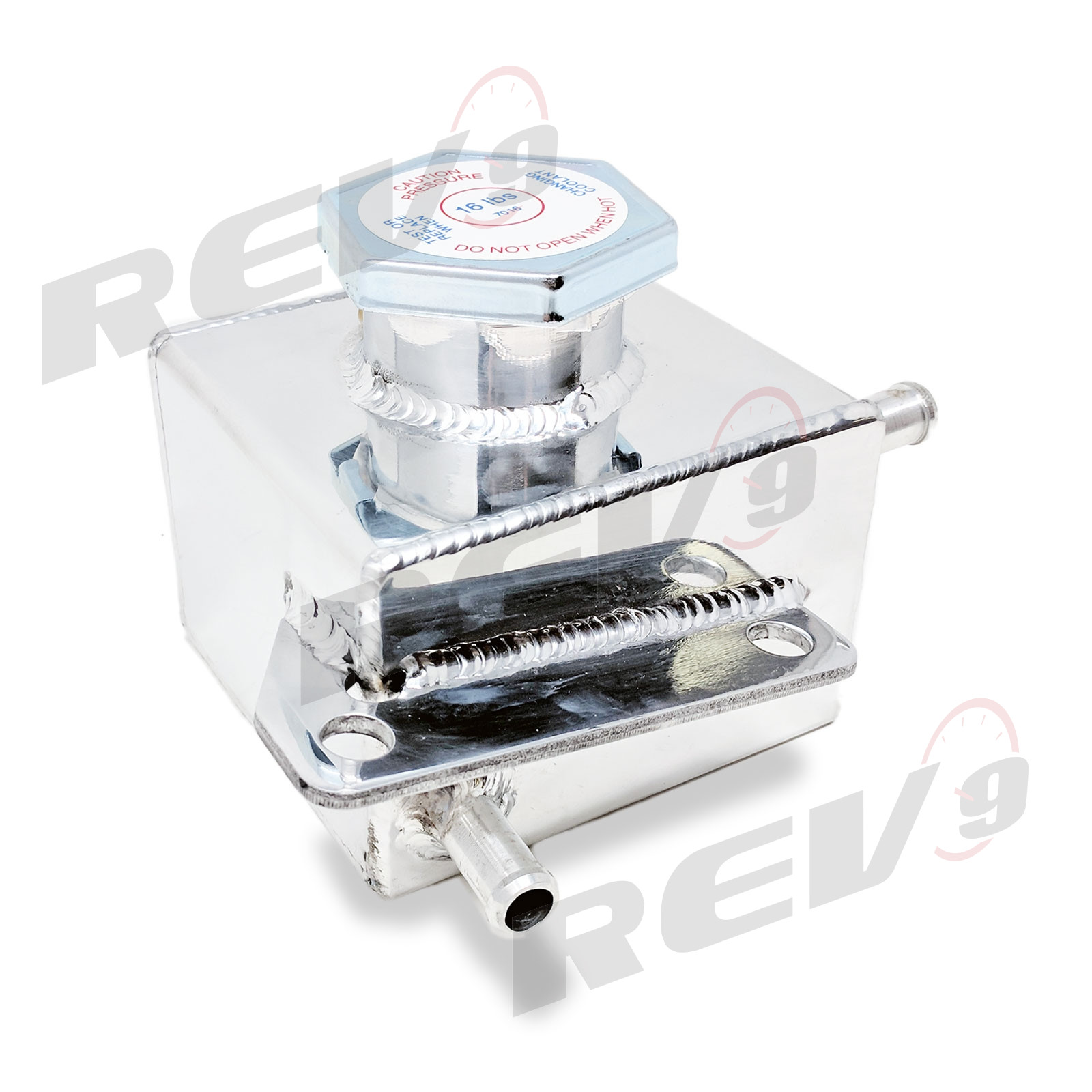 Rev9power Aluminum Coolant Expansion Overflow Tank