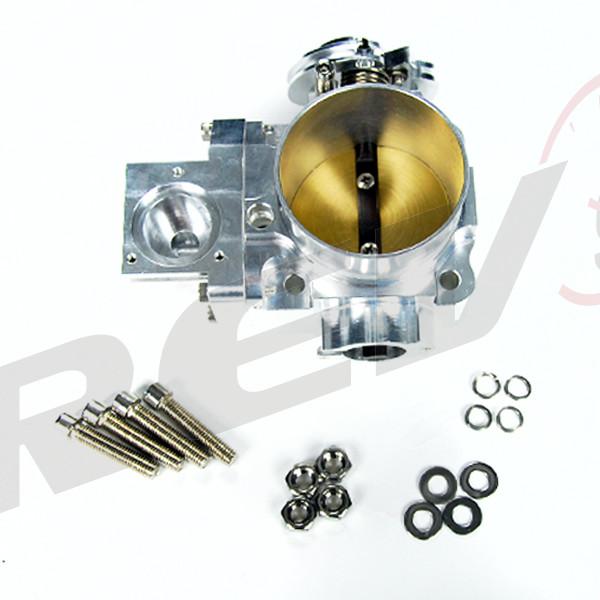 Aluminum 70mm Throttle Body For Mitsubishi Lancer: Rev9Power: Billet Aluminum Throttle Body 70mm For