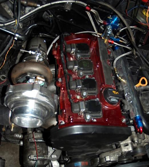 Rev9Power: Volkswagen Passat / Audi A4 1.8T GT35 Top Mount