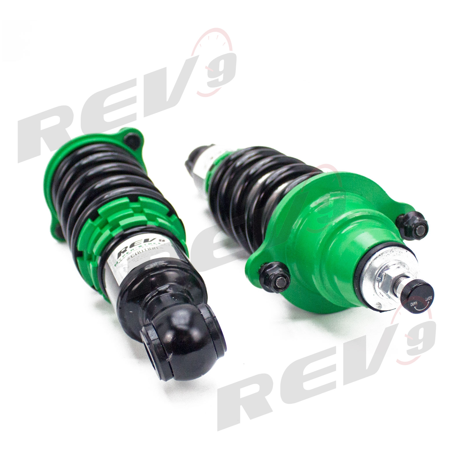 2002-06 Hyper-Street II Coilovers Lowering Kit by Rev9 DC5 32 Damping Level Adjustment R9-HS2-013/_1 made for Acura RSX