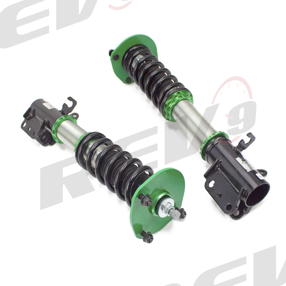 R9-HS2-105 compatible with Mazda Protege 1999-03 Hyper-Street II Coilover Kit w// 32-Way Damping Force Adjustment Lowering Kit by Rev9 32 Damping Level Adjustment BJ