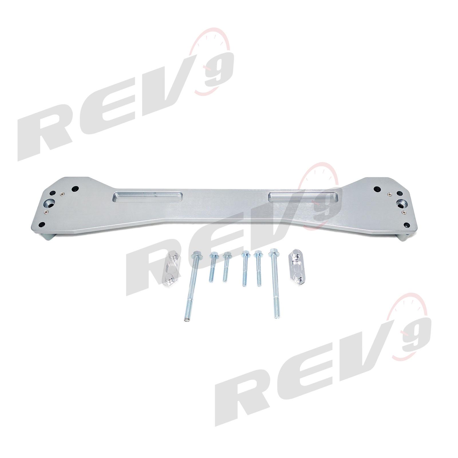 Aluminum Subframe Brace SILVER Anodized Aluminum