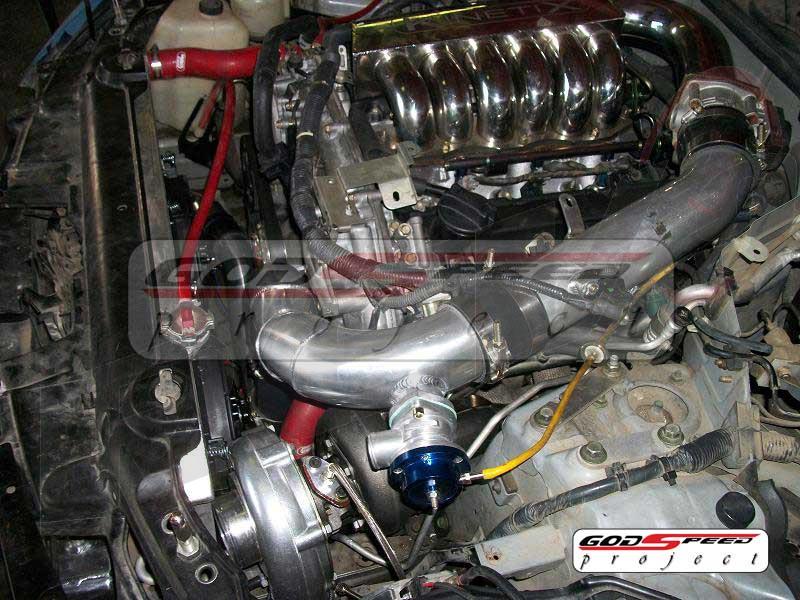 Nissan 350Z 03-06 60-1 Turbocharger Kit (Fits G35 03-06)