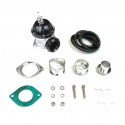RS-Series 2-Bolt Blow Off Valve BOV (Black)