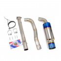 "Single Exit Cat-Back Exhaust Kit, Titanium, 2.75"" Inch, Honda S2000 00-09 (AP1/AP2)"