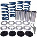 Acura, Honda Lowering Spring Sleeve Kit (Blue)