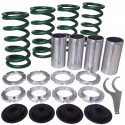 Acura, Honda Lowering Spring Sleeve Kit (Green)