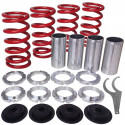 Acura, Honda Lowering Spring Sleeve Kit (Red)