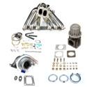 Toyota Soarer 1JZ T4 Top Mount Turbocharger Setup Kit