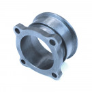 "2.5"" 4-Bolt to 3"" V-Band Conversion Flange Turbocharger Adaptor (Cast)"