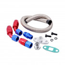 Universal Turbo Oil Return / Drain Line Kit 10AN