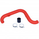 Hi-Flow Intake Pipe for Volkswagen Jetta MK5 2.0t Turbo FSI (Wrinkle Red)
