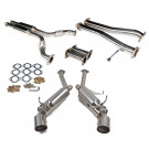 Nissan 350Z / Infiniti G35 VQ35 Dual Cat-Back Exhaust