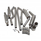 Chrysler 300C V6 05-10 Stainless Steel Dual Cat-Back Exhaust