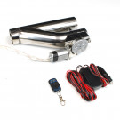 Electric Exhaust Cutout with Remote V2 (Universal), 2.5 in.