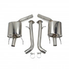 Lexus GS350 (L10) 2013-18 FlowMaxx Stainless Axle-Back Exhaust System, 60mm Pipe
