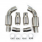 Chevrolet Camaro 10-15 V6, Axle Back FlowMaxx Exhaust Kit, Sport Muffler