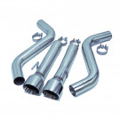 Dodge Charger V8 6.2L / 6.4L 2015-21 FlowMAXX Stainless Steel Axle-Back Exhaust Kit, Free Flow Design