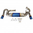 Cat-Back Exhaust, Titanium,89mm Tip, Acura NSX 1991-96