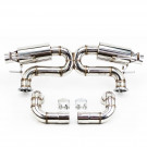 Cat-Back Exhaust, Stainless Steel, 2.75 Inch, Audi R8 4.2L V8 2008-15
