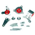 Motor Mount Set, Billet Aluminum, Honda Civic Si 2002-05 EP3 K-Series Engine