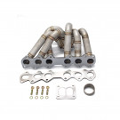 HP-Series Toyota Supra 2JZGTE Equal Length T4 Turbo Manifold Divided Flange