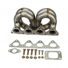 HP-Series Honda Civic B16 B18 Ram Horn Equal Length T3 Turbo Manifold 38mm Wastegate Flange