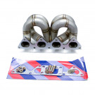 HP-Series Honda Civic B16 B18 Ram Horn Equal Length T3 Turbo Manifold for EFR turbochargers