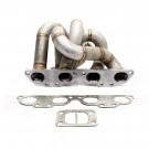 HP-Series Nissan 240SX SR20 Equal Length Top Mount Front Facing T3 Turbo Manifold