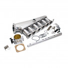 Toyota 2JZ-GTE CNC Aluminum Intake Manifold 90mm Throttle Body with Fuel Rail Kit