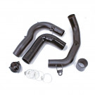 "Volkswagon Golf Sportwagen MK7 1.8L Turbocharged 2015-18 2.5"" Intake and Charge Pipe Kit with Turbo Muffler Bypass Adaptor"